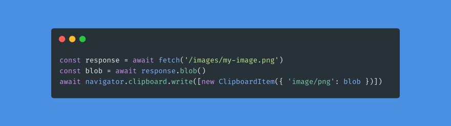 Copy Image Clipboard