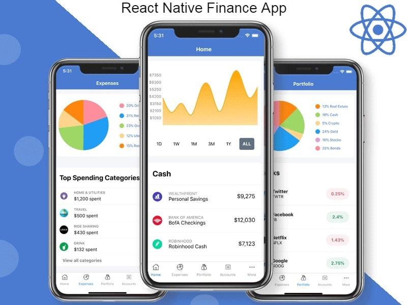 React Native Finance App