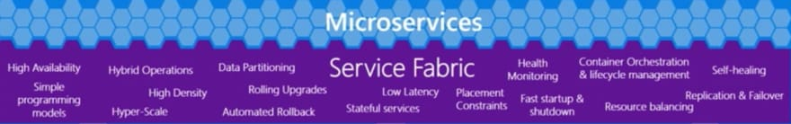 Service Fabric Features