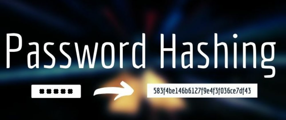Cover image for How to hash your passwords in Node.js Easily.