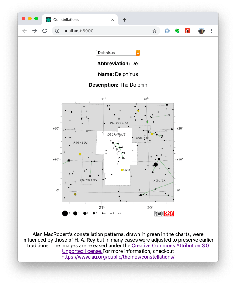 Constellations - TomEE and React Demonstration