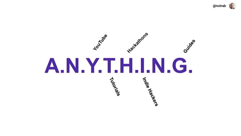 anything acronym