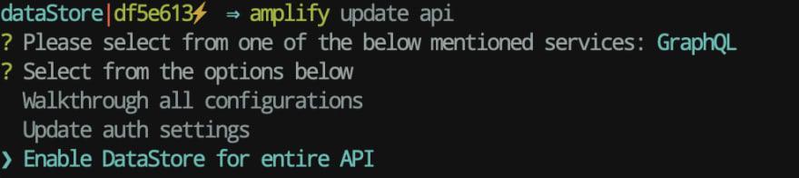 amplify update api