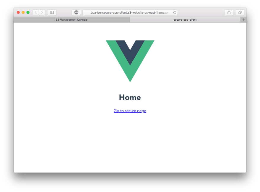 Vue.js on S3