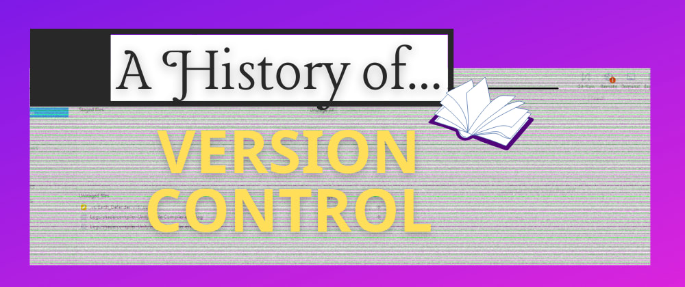 Cover image for A History of Version Control