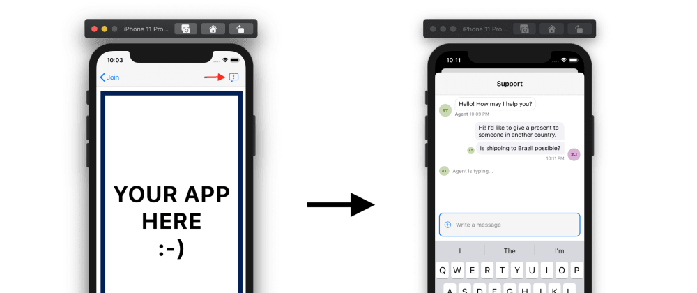Cover image for How to Implement In-App Support Chat on iOS