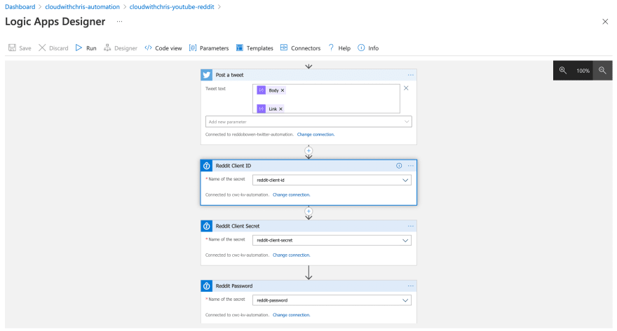 Part 3 of the Cloud with Chris publishing workflow