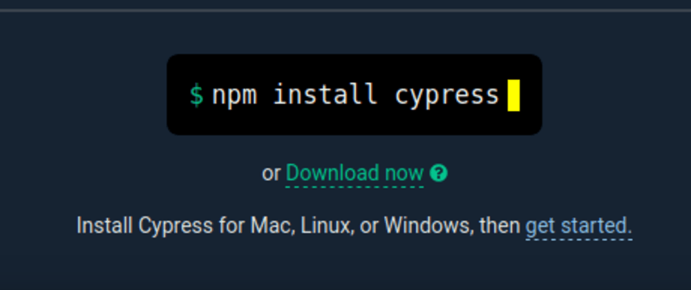 Cover image for Cypress - UI Testautomation - Access Elements Intro