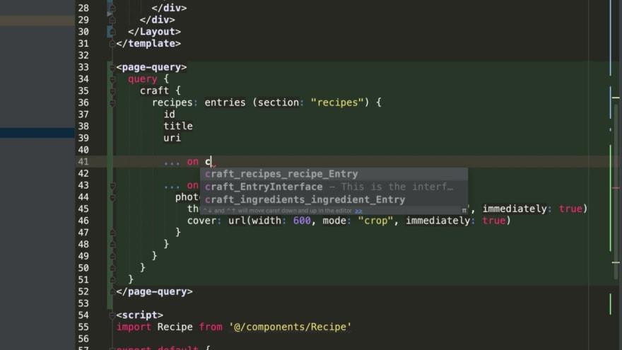 Graphql auto complete phpstorm