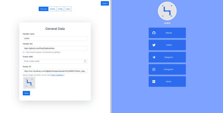 Screenshot_2021-05-22 Linkin Dashboard