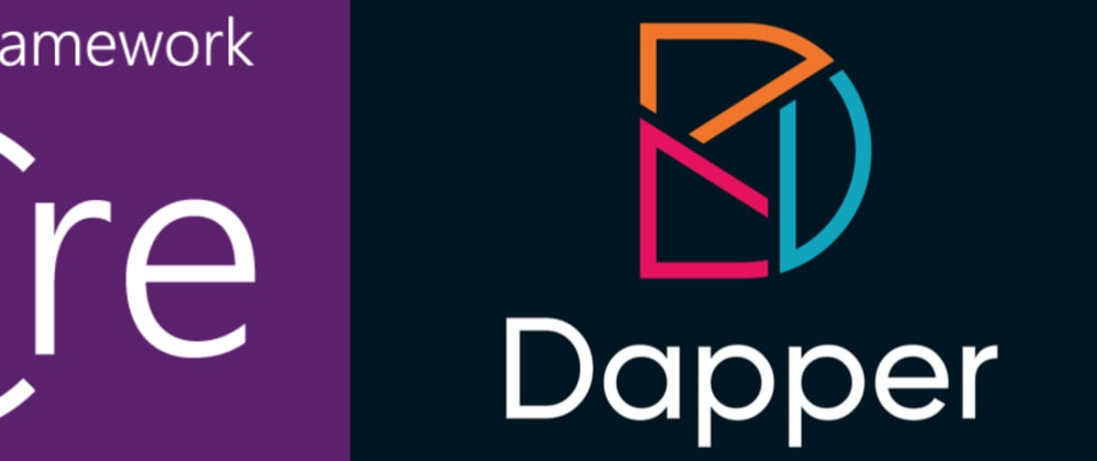 Cover image for Using Dapper over EntityFramework for database operations in .NET Core