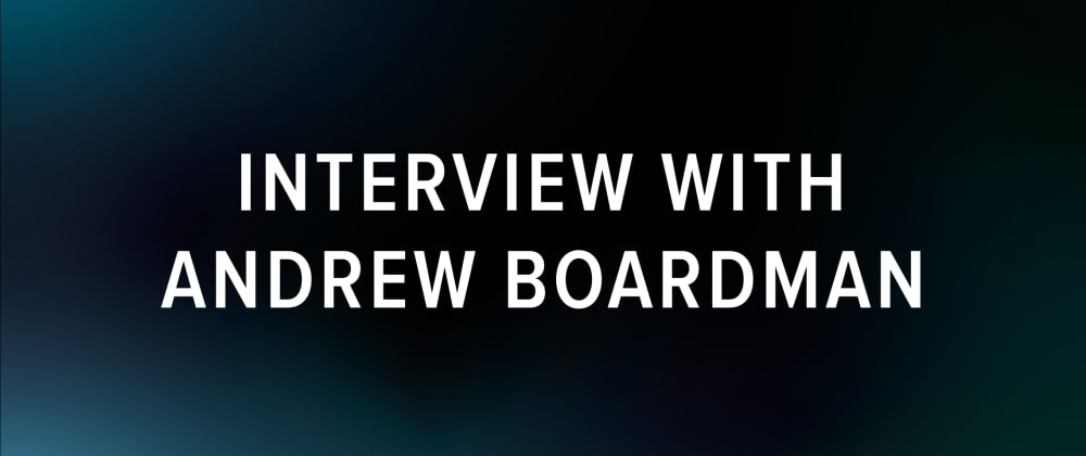 Cover image for Haskell Foundation: Interview with Andrew Boardman