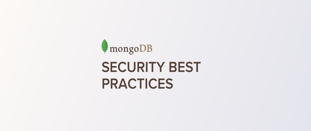 Cover image for One-step to prevent potential NoSQL Injection in your mongodb application