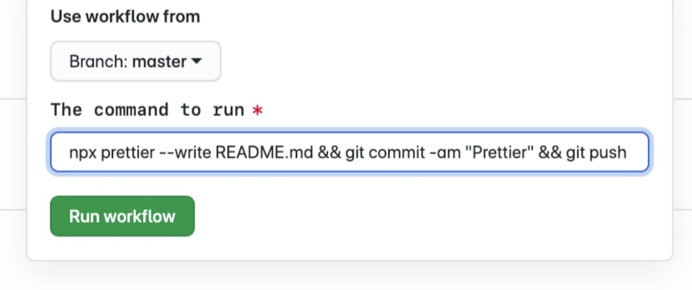 Cover image for Add this `.yml` file to your repo to give it a GitHub Actions-based shell