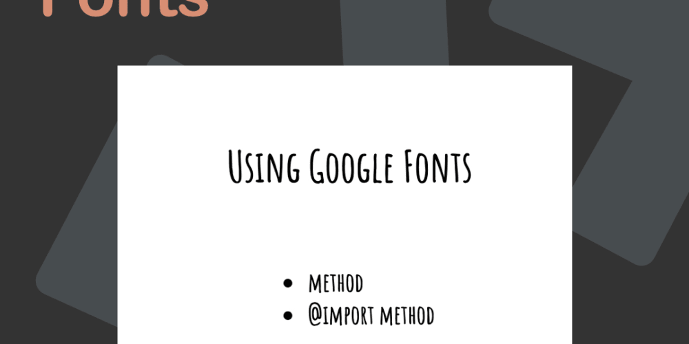 How to use Google Fonts - DEV Community