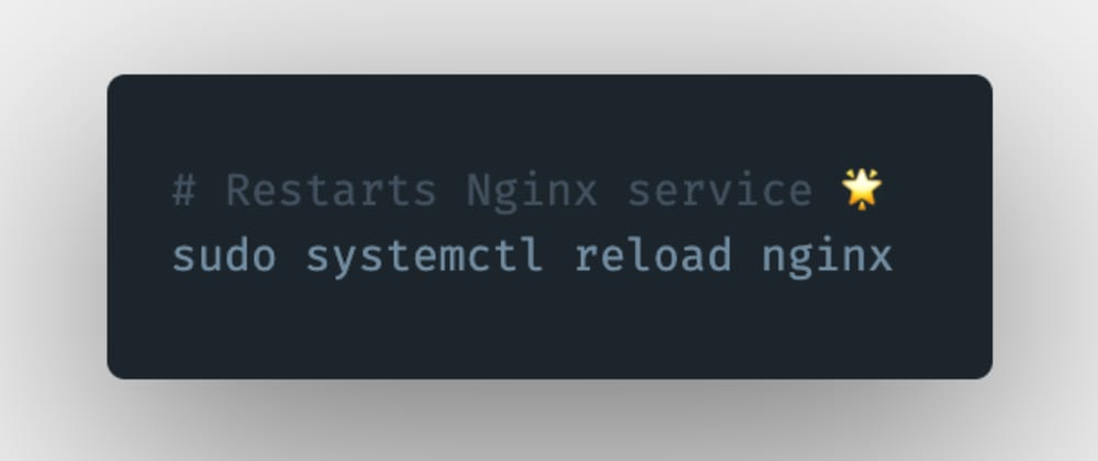 Cover image for How to restart an Nginx server or service in Linux?