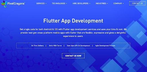 flutter development comoany