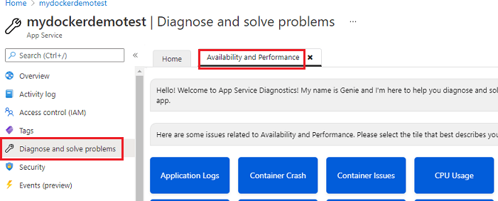 webapp-logging-diagnose