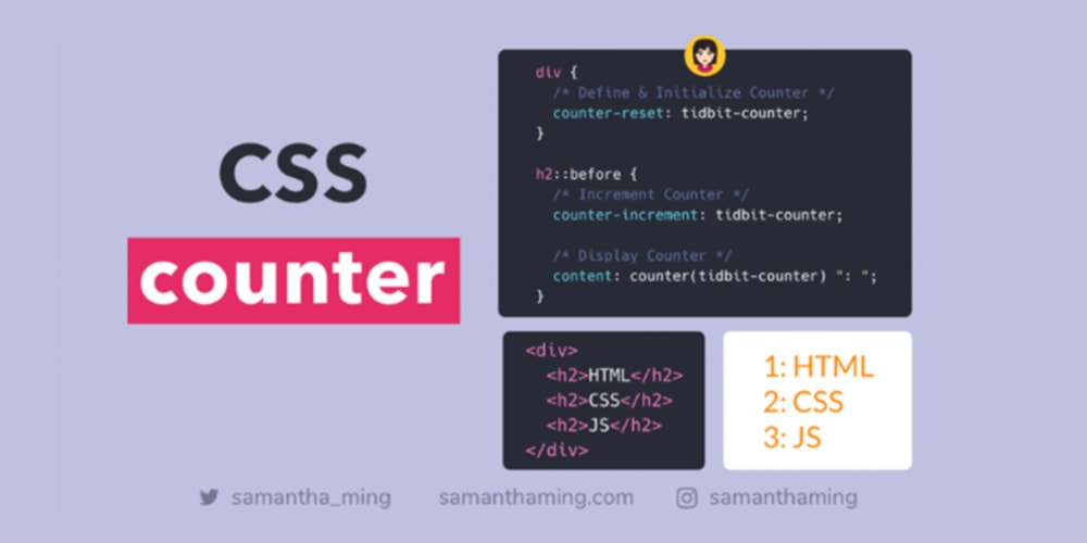 A Guide to CSS counter - DEV Community 👩 💻👨 💻