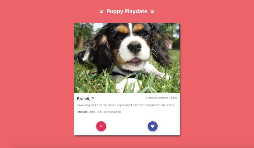 Puppy playdateapp