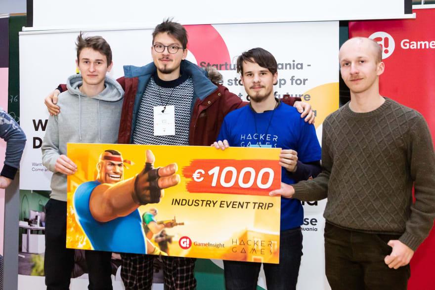 hackathon win