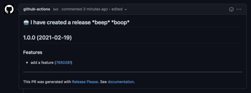 Generated release pr