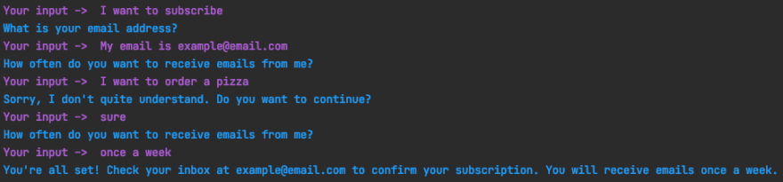 Chat with chitchat during frequency question handled properly