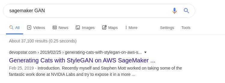 DevOpStar SageMaker GAN rankings