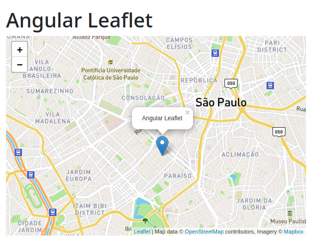 Angular Leaflet