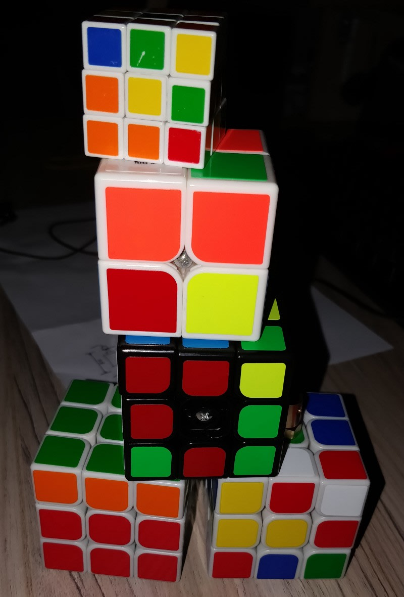 My unsolved cubes