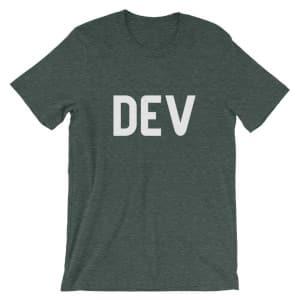 Grey Dev.to T-Shirt