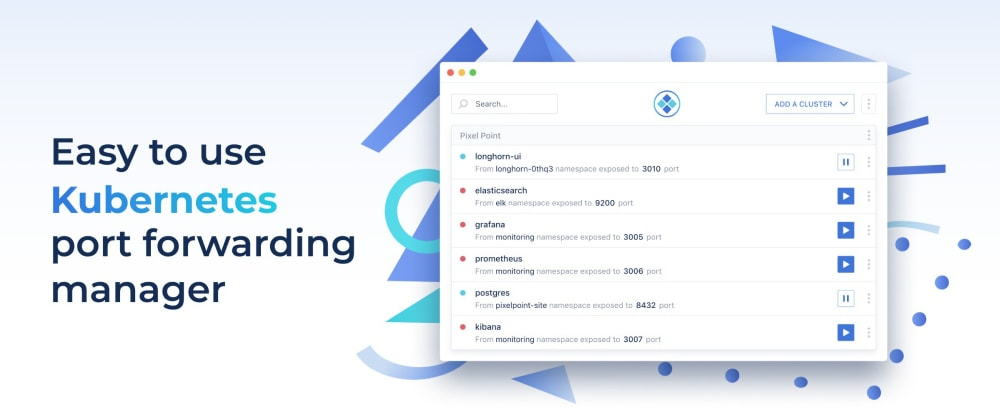 Cover image for A simple guide for port forwarding Kubernetes resources