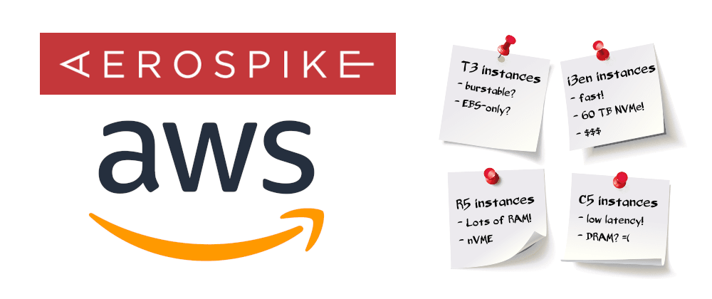 Cover image for AWS Instances for Aerospike Clusters
