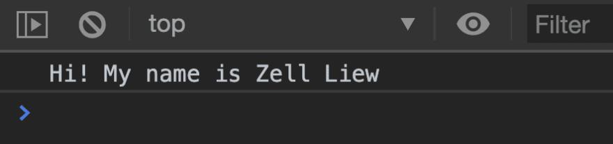 Zell says hi.