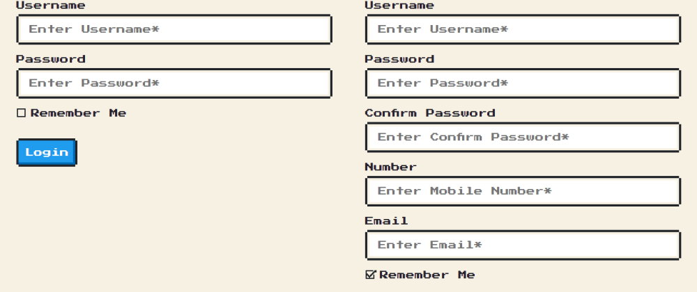 Cover image for Login and Registration Form Using NES.css
