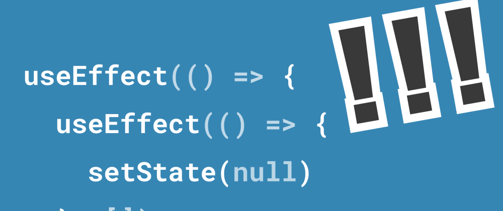 Cover image for We need to talk about state in React