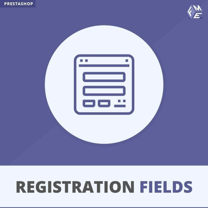 Prestashop Registration Fields