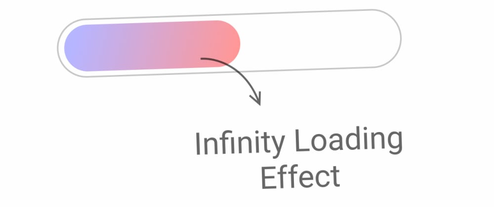 Cover Image for Quick CSS : Make infinity loading animation for your next website.