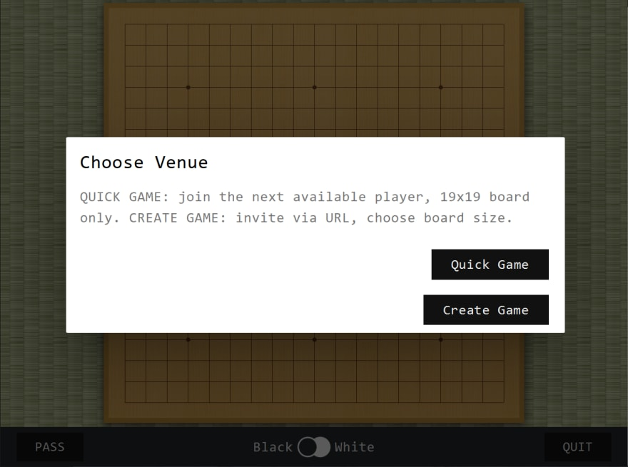 Choosing a Venue