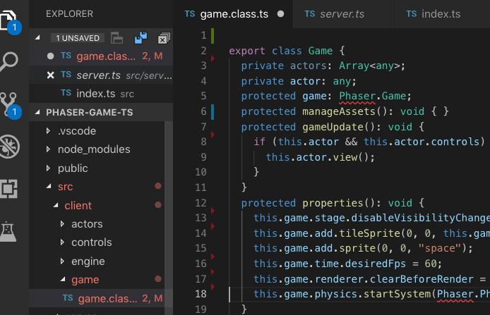 TypeScript errors