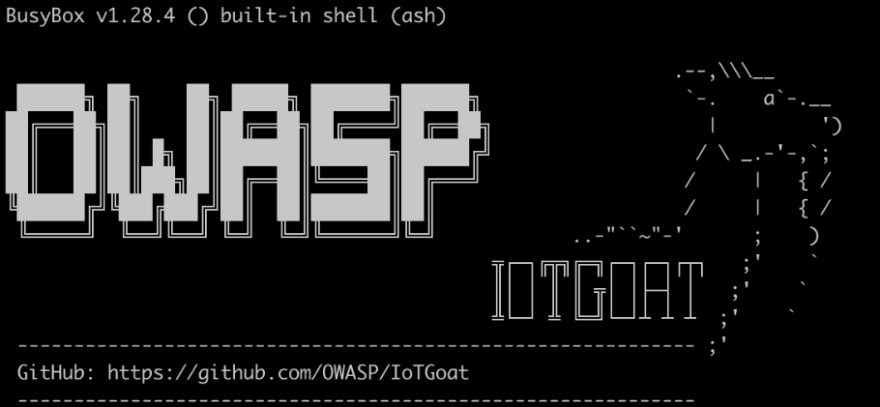 OWASP IoTGoat Project