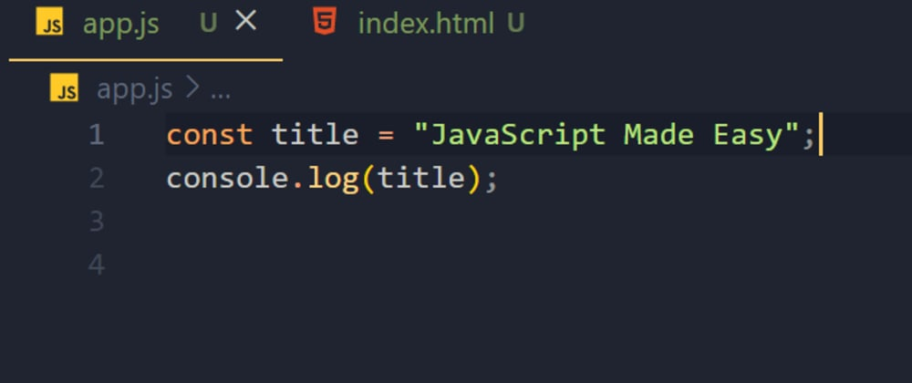 Cover image for JavaScript Made Easy: Part 1