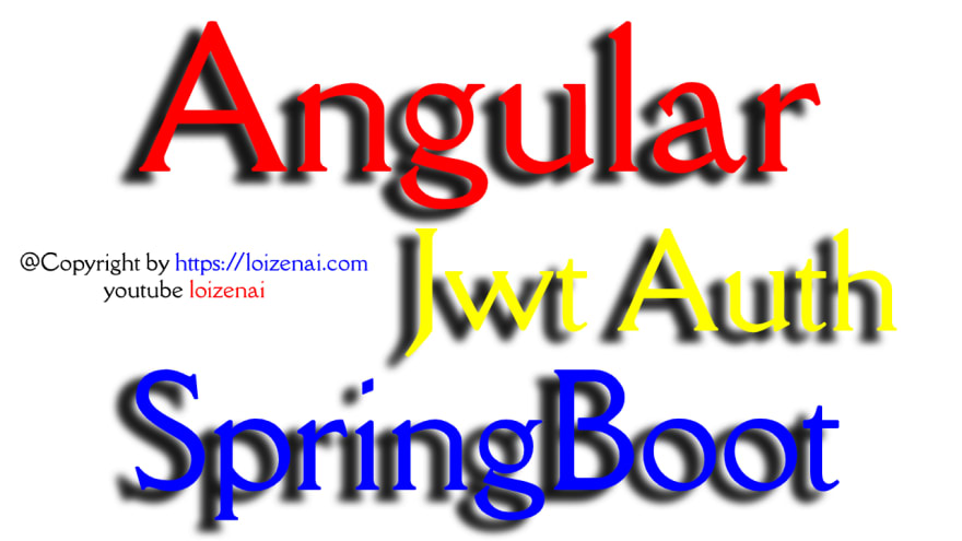 Angular Spring Boot jwt Authentication Example Github