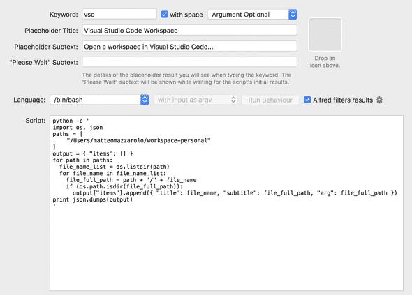 script filter