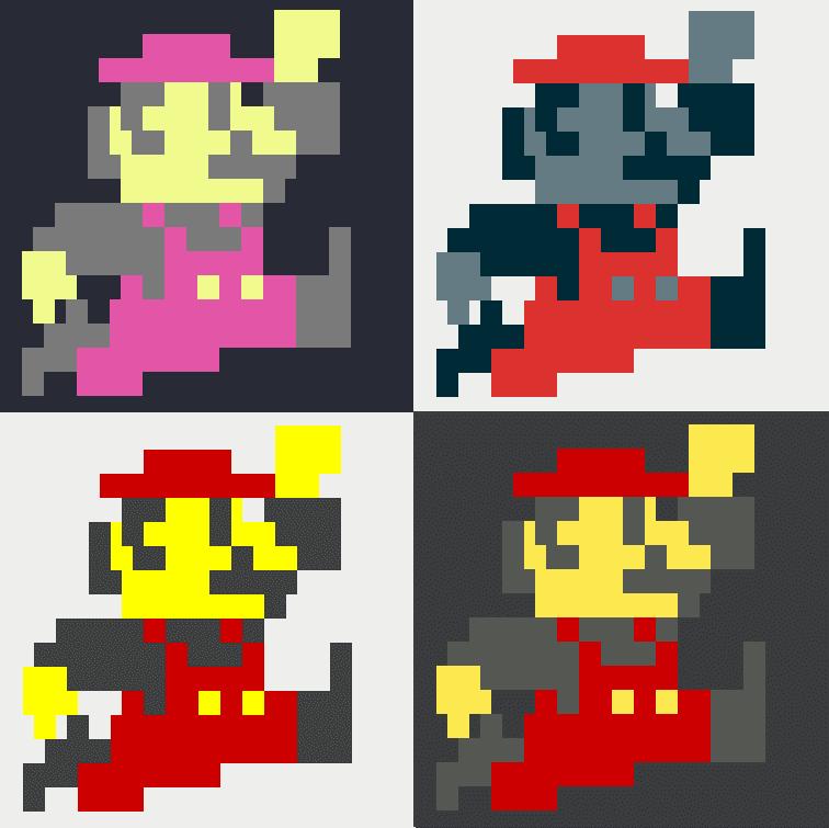 mario theme examples