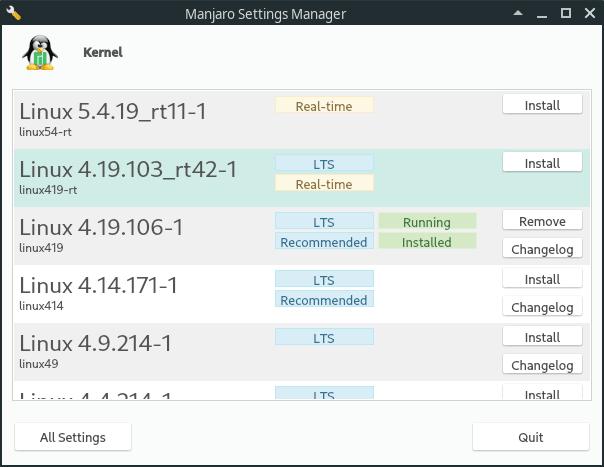 kernel 4.19