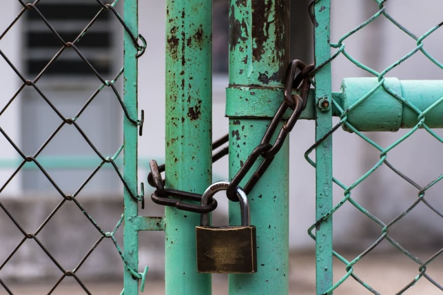 Improving the blog security