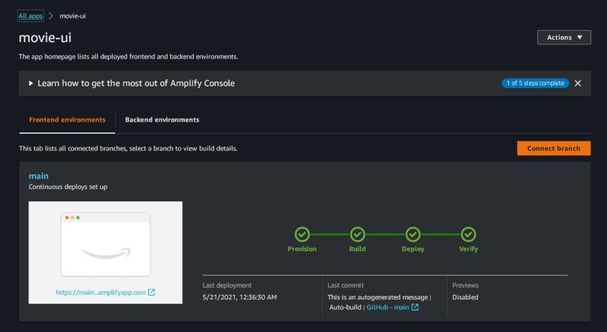 Verify deployment
