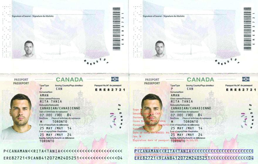 passport mrz recognition