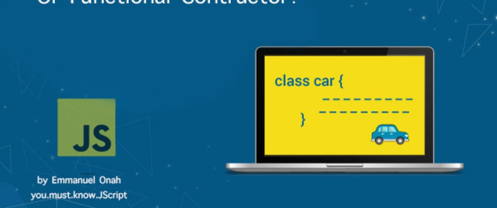 Cover image for Function Constructor in Javascript